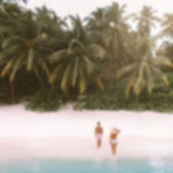 The Wanderlovers Maldives kuramathi resort private island drone shot overwater villa