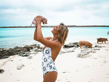 The wanderlovers bahamas sandals emerald bay exumas swimming pigs excursion island routes adventure