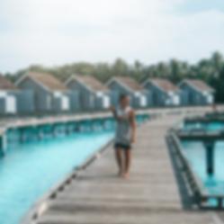 The Wanderlovers Maldives kuramathi resort private island overwater villa