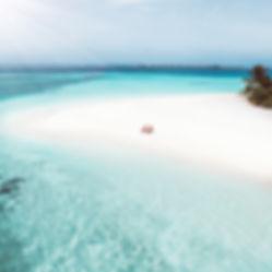 The Wanderlovers Angsana Velavaru Island Resort The Maldives Luxury Private sea plane beach drone aerial shot