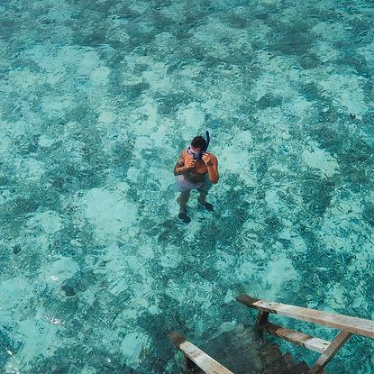 The Wanderlovers Maldives velassaru resort island luxury overwater villa snorkel dive