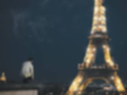 the wanderlovers paris eiffel tower trocadero rooftop view lightshow eurostar