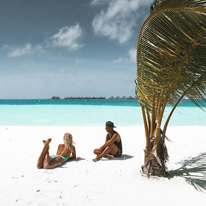 The Wanderlovers Angsana Velavaru Island Resort The Maldives Luxury Private sea plane beach
