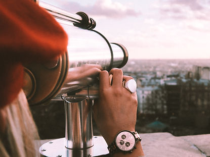 The Wanderlovers paris montmartre view point mvmt watch beret