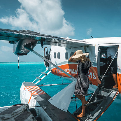 The Wanderlovers Angsana Velavaru Island Resort The Maldives Luxury Private sea plane