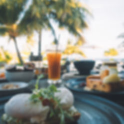 The Wanderlovers Maldives velassaru resort island luxury overwater villa restaurant breakfast