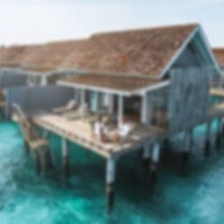 The Wanderlovers Maldives kuramathi resort private island overwater villa breakfast robe drone
