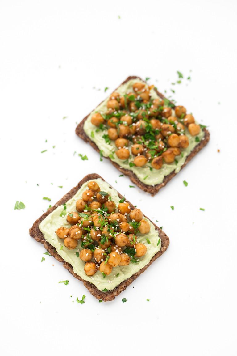 Toast Chickpeas