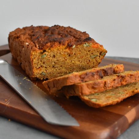 Spiced Sweet Potato Chickpea Bread