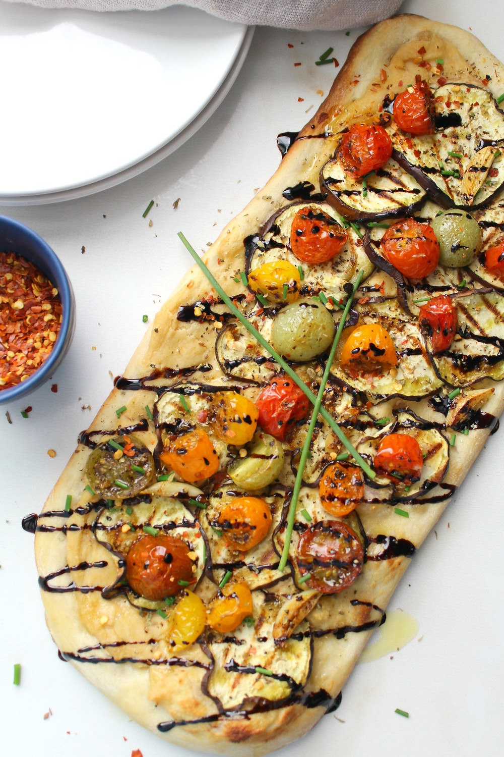 Flatbread Pizza Tomatoes
