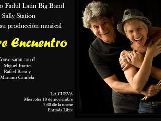 """""""Listening Party"""" in La Cueva / Conversatorio en La Cueva (Barranquilla)"""