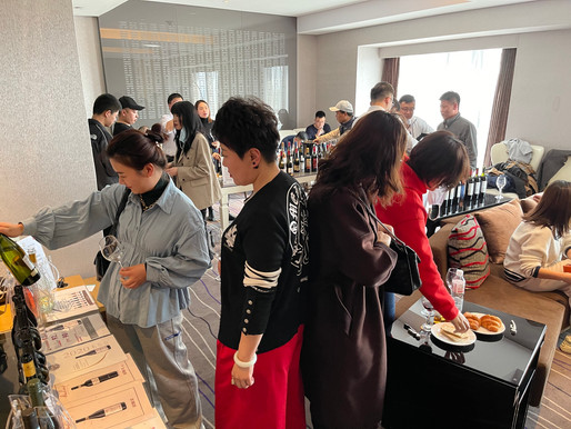 1st Private Tasting in Qingdao 🍷🤵