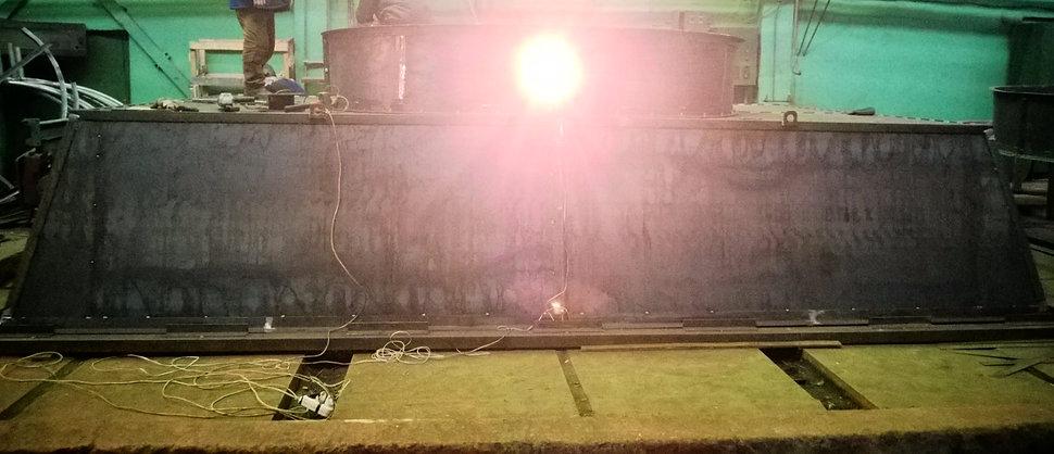 Изготовление диффузоров для аппаратов воздушного охлаждения