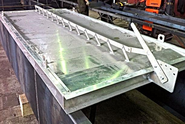 алюминиевые жалюзи для АВО