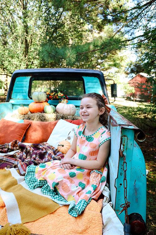 Pumpkin Truck mini