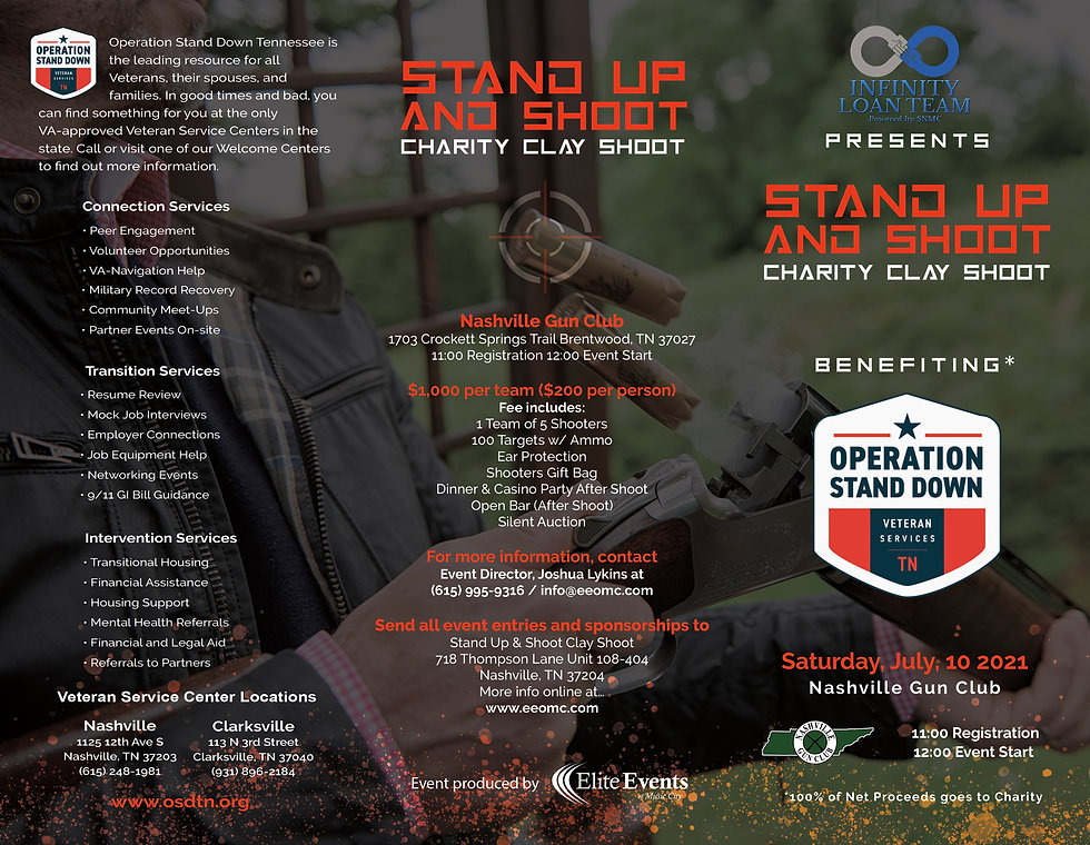 Stand Up and Shoot Charity Clay Shoot Ev
