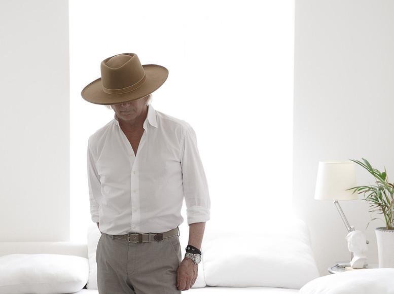 Man i hatt.