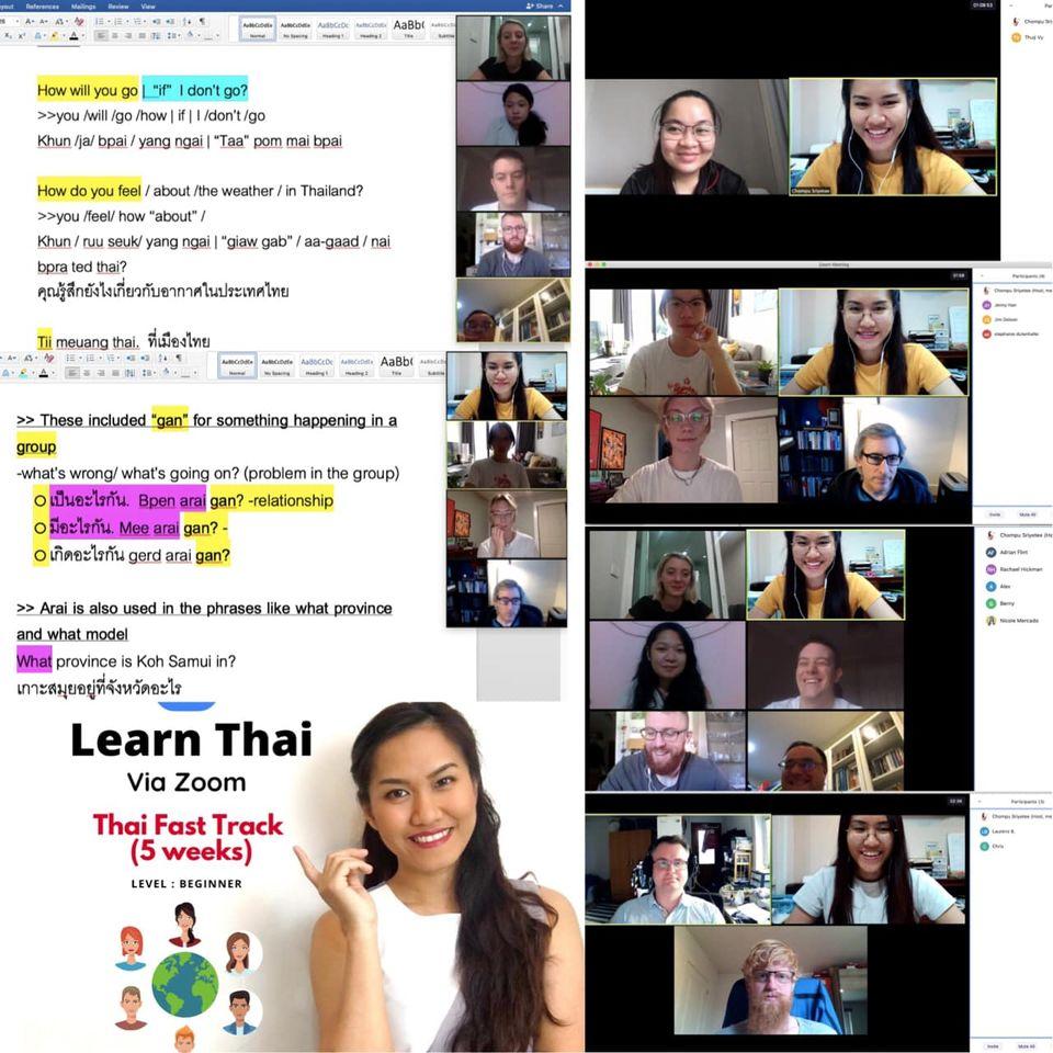 thai by chom class