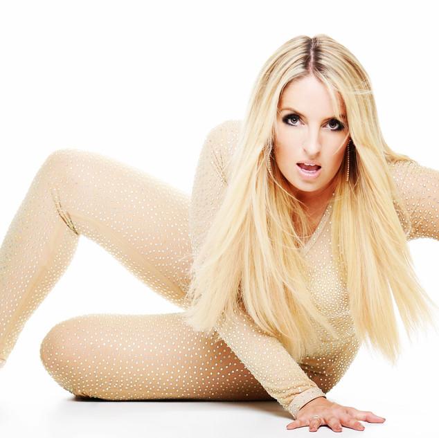 Toxic singer Britney lookalike