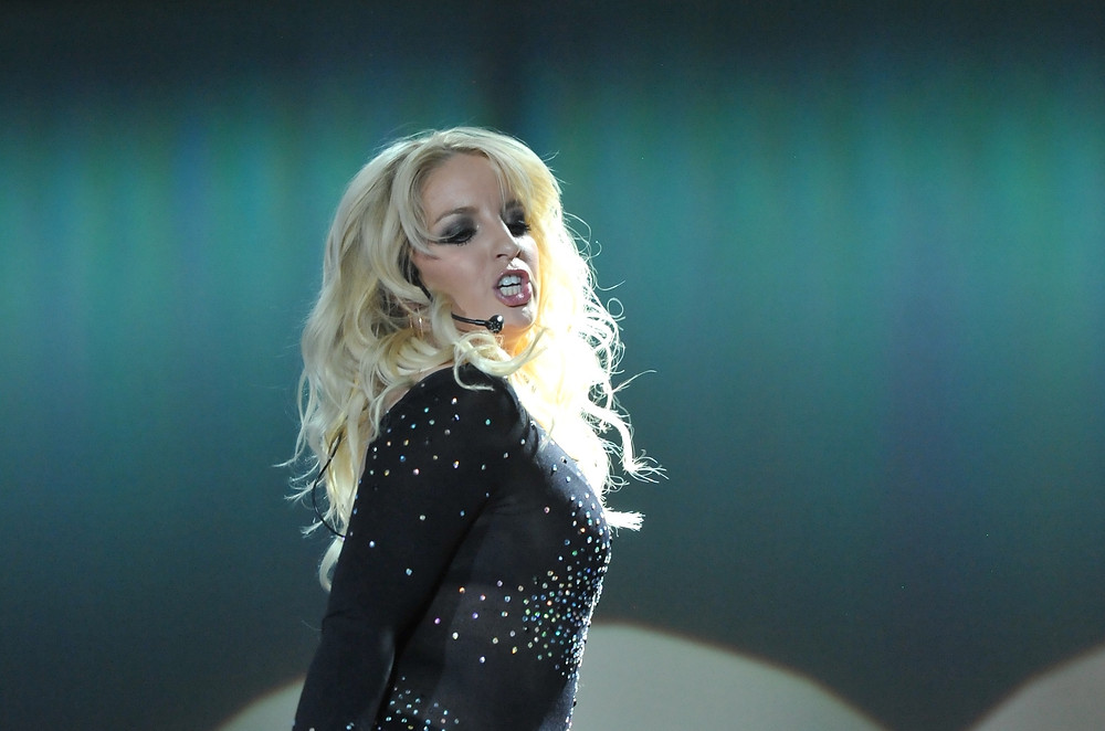Michaela performing her tribute show to Britney Spears live in Las Vegas!