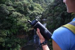 Mokoroa Falls with Dawny Cooler