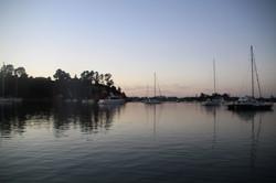 Herald Island at Dawn
