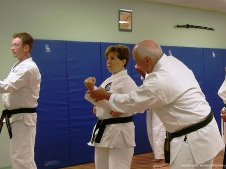 What I learned from going from Karate 'student' to Karate 'teacher'