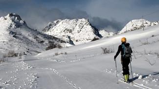 Esquí de travesía o randone y las mamás!!