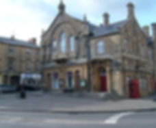 An image of an old building in the town of Crewkerne.