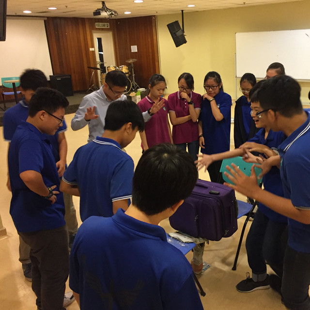 Public speaking training for high school students
