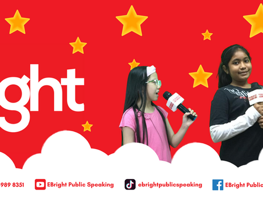 The Ebright Kids Public Speaking Blog!