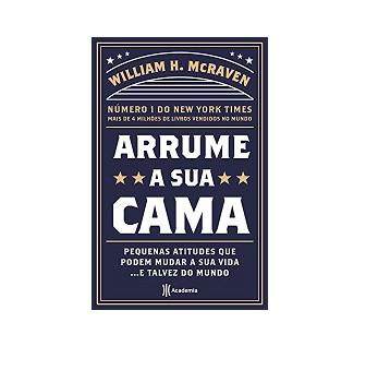 """""""ARRUME SUA CAMA"""" Nossa indicação de livro de semana"""