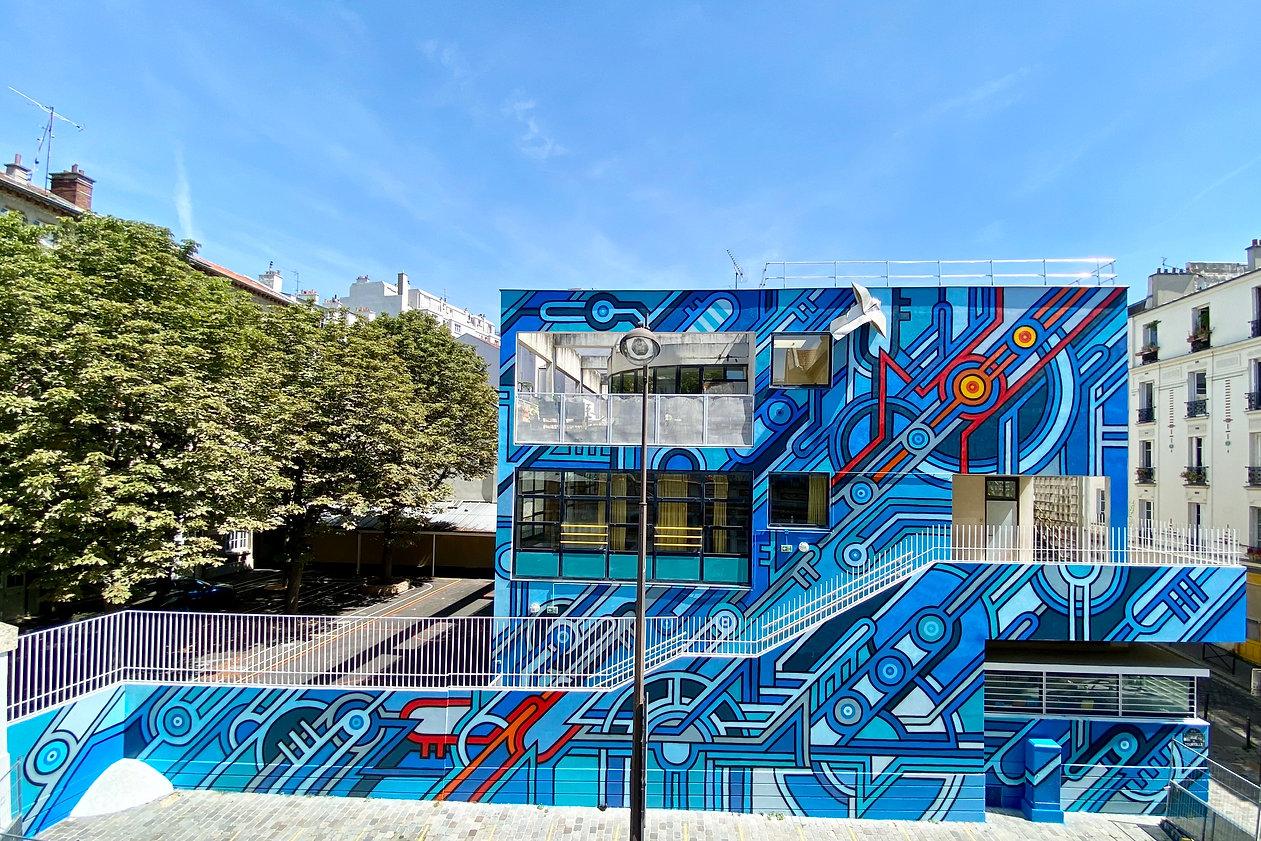SEIZE Fresque 2020 Ecole Tourtille, Pari
