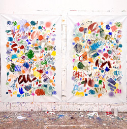 Twin Paintings n°6