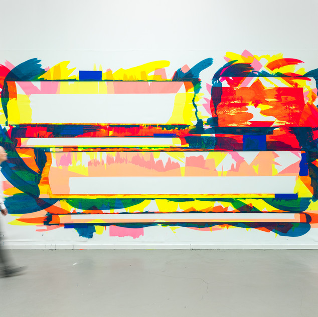 Marc RENARD 2019 - 20190917 - 340 x 630 cm (134 x 248 in ) - Acrylic on polyester canvas