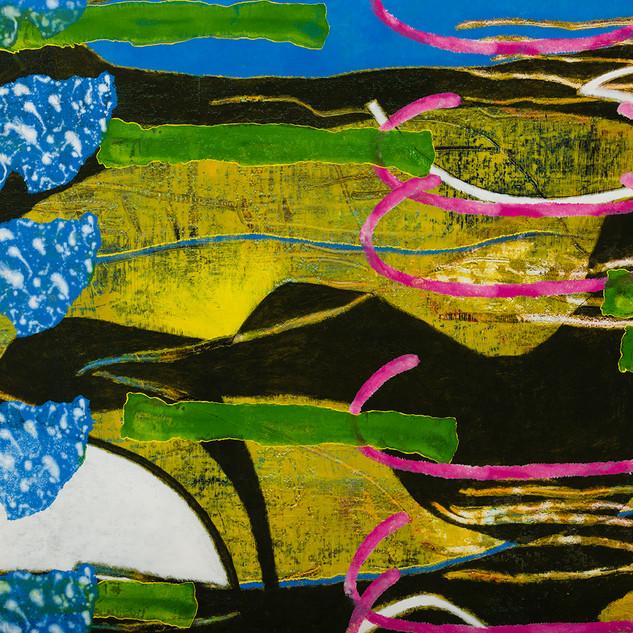 Marc RENARD 2000 - 200054 - 180 X 258 cm (71 x 101 in.) - Oil on Canvas