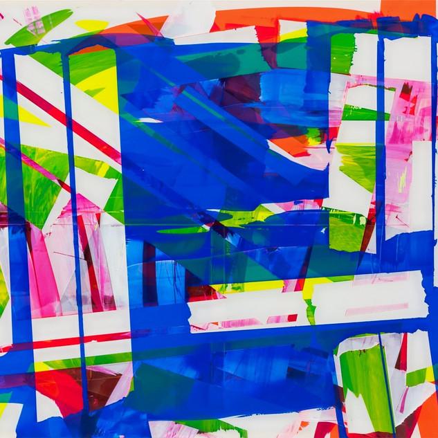 Marc RENARD 2019 - 20190924 - 140 x 180 cm ( 55 x 102 in)- Acrylic on polyester canvas