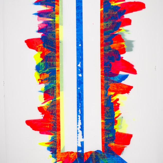 Marc RENARD 2020 - 20200201 - 150 x 110 cm (59 x 43 in.) - Acrylic on polyester canvas