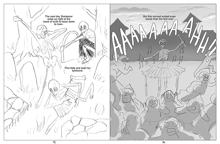 Pages 15 and 16