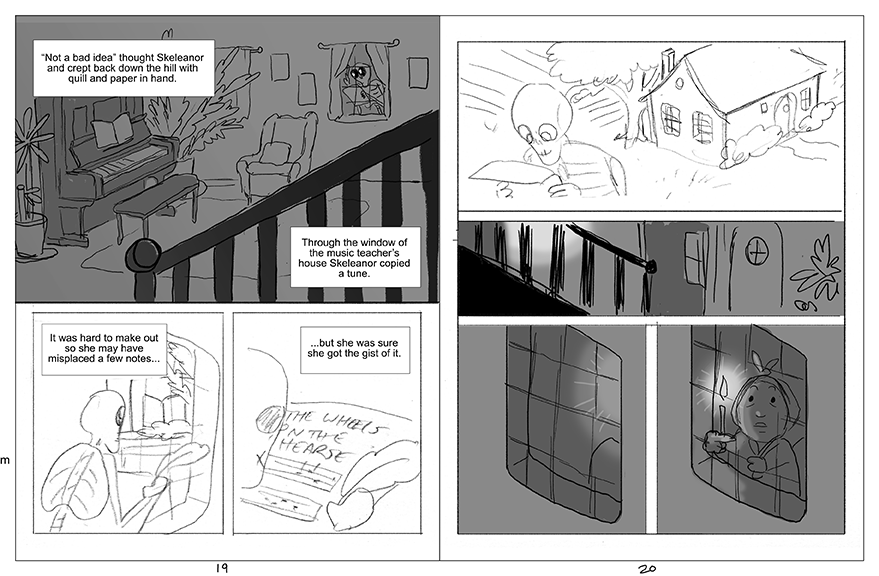 Pages 19 and 20