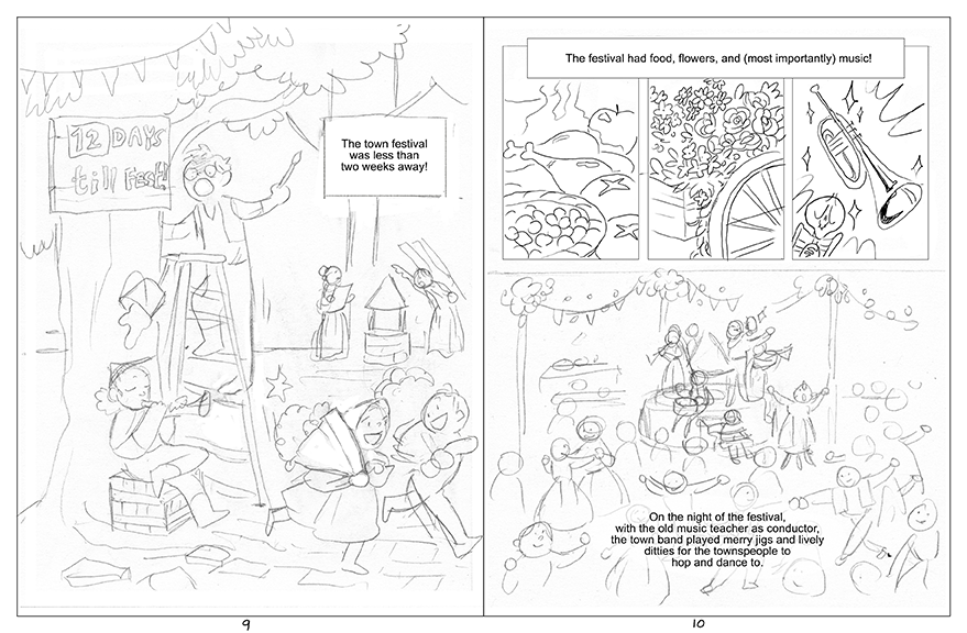 Pages 9 and 10