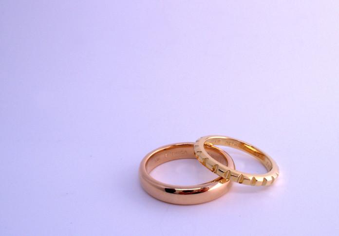 新しいかたちの結婚指輪