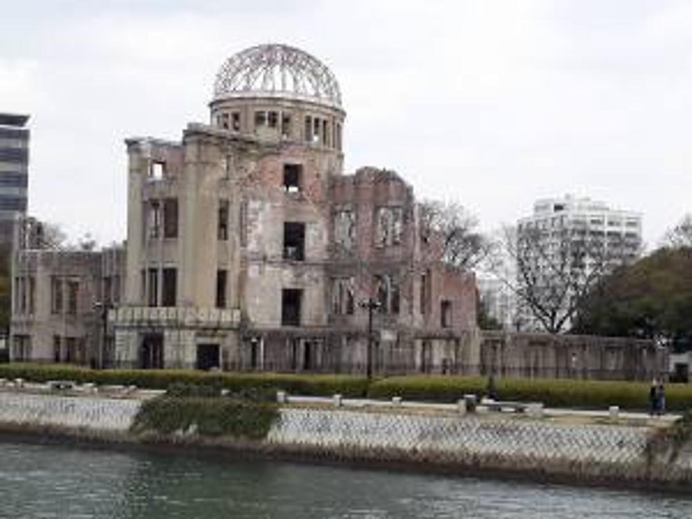 Hiroshima 原爆ドームPETHICA
