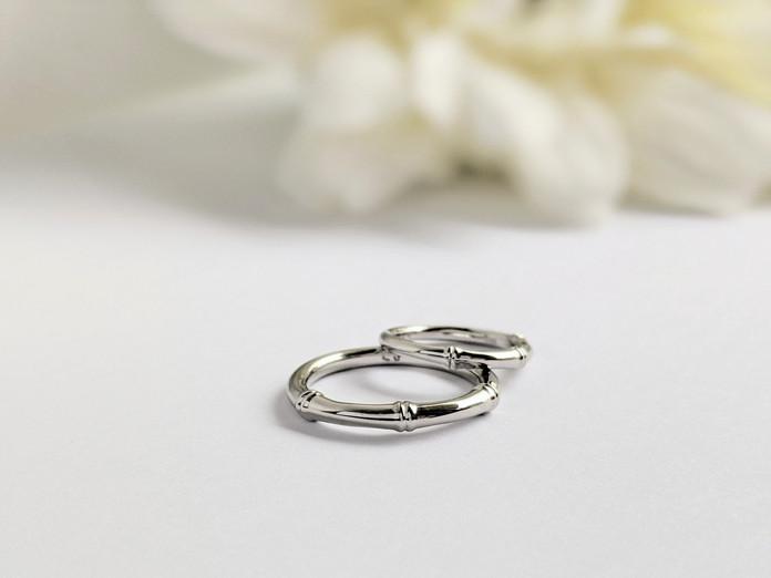 結婚指輪 世界にひとつだけのバンブーリング
