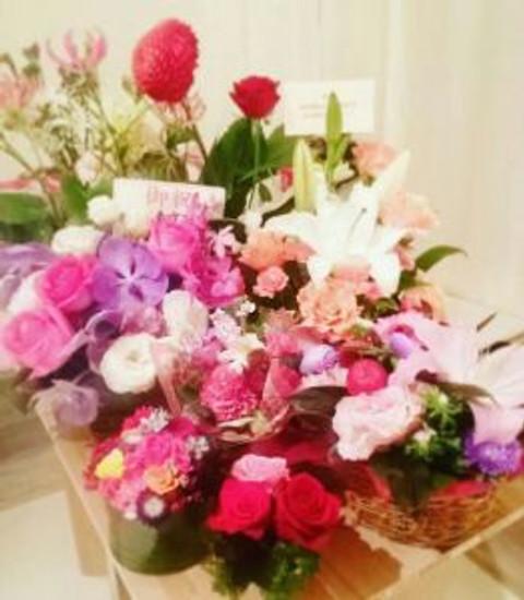 PETHICA ペシカ個展 お花