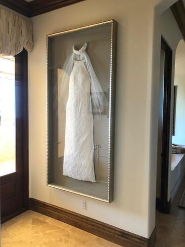 Framed Wedding Dress