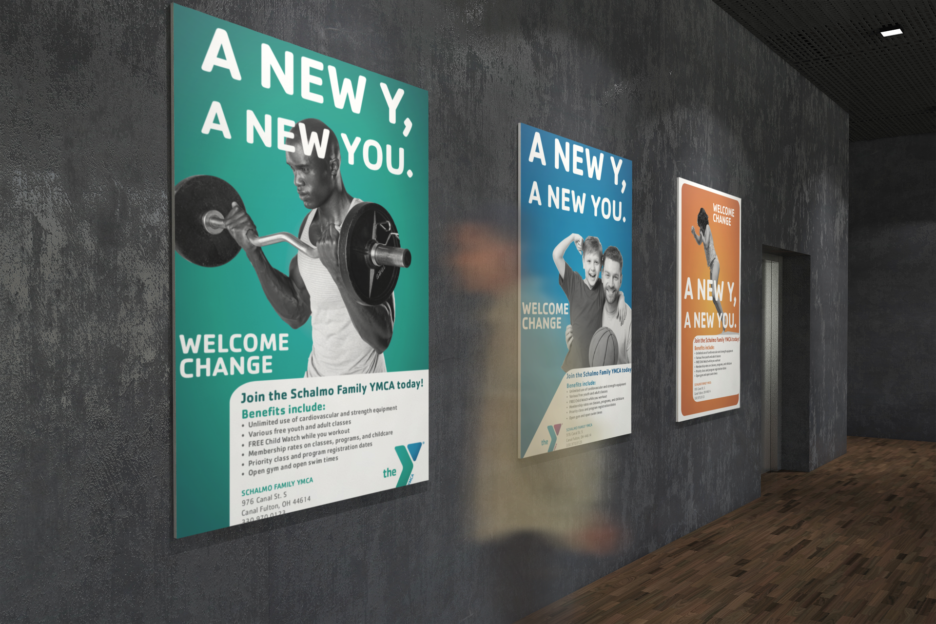 YMCA Business Posters