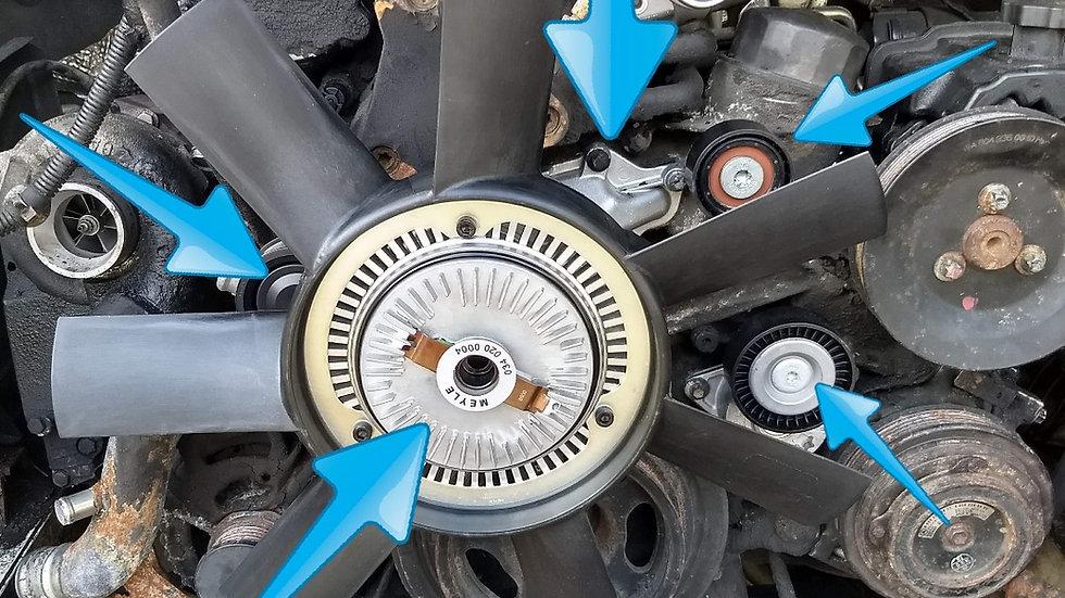 '04-06 120K Mile Cooling System Maintenance Kit (No Radiator)