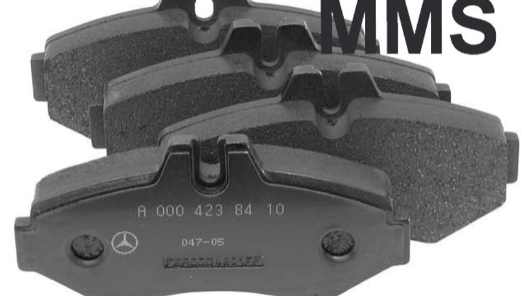 3500 Rear Brake Pad Set