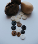 NATURAL COROZO & TAGUA NUT BUTTONS
